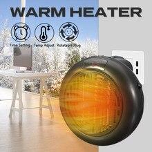 Heizlüfter Für Hause 900w Mini Elektrische Heizung Zu Hause Heizung Elektrische Warme Luft Fan Büro Zimmer Heizungen Handliche Air heizung Wärmer Fan