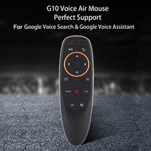 Bundwin G10s 2.4GHz Mini Remote Control Wireless Fly Air Mouse For Android Tv Box With Voice Control For Gyro Sensing Game