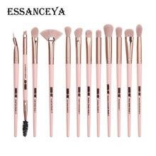 ESSANCEYA, новые кисти для макияжа, 3-12 шт., профессиональное смешивание теней для век, бровей, кисти для макияжа, набор для красоты