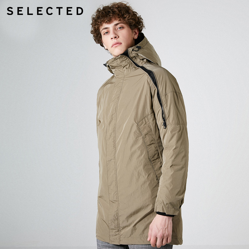 SELECTED Winter Mens Two-piece Long Duck Down Jacket Coat | 419112506