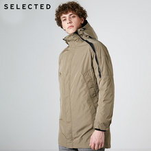 SELECTED winter mens 2 피스 롱 오리 자켓 코트 | 419112506(China)