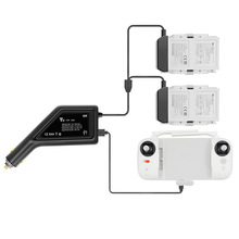 X8 SE 2 in1 차량용 충전기 어댑터 Lipo 배터리 리모컨 충전기 XiaoMi FIMI X8 SE RC Quadcopter 배터리 용 고속 충전