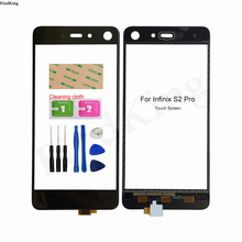 5.2'' Mobile Touch Screen For Infinix S2 Pro X522 Touch Panel TouchScreen Front Glass Digitizer Panel Tools Adhesive