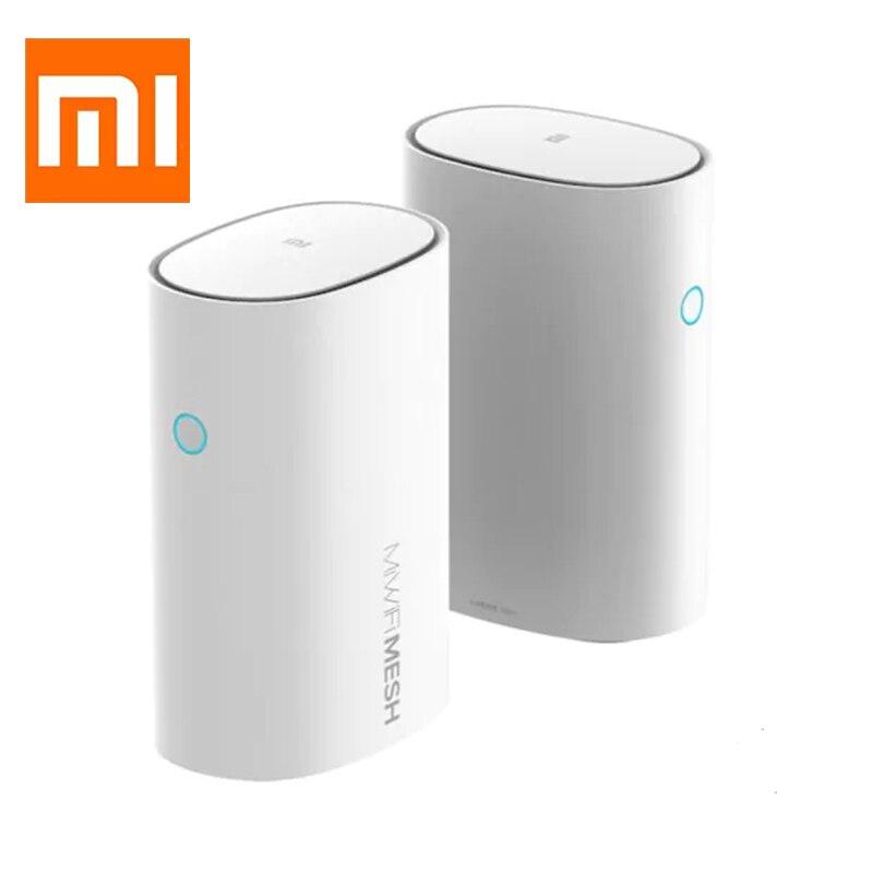 Xiaomi maille routeur 2.4G + 5G Smart Xiaomi maille WiFi routeur AC1300 + 1000M LAN 2567Mbps Gigabit 4 Core 4 amplificateurs de Signal