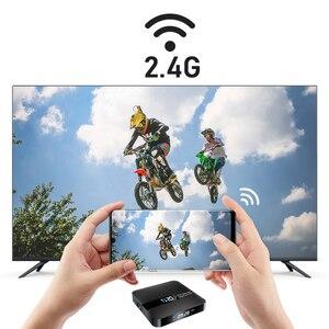 Image 3 - 안드로이드 10.0 TV 박스 RK3229 4K 유튜브 구글 어시스턴트 2G 16G 셋톱 박스 3D H.265 2.4G 와이파이 미디어 플레이어 TV 수신기 플레이 스토어