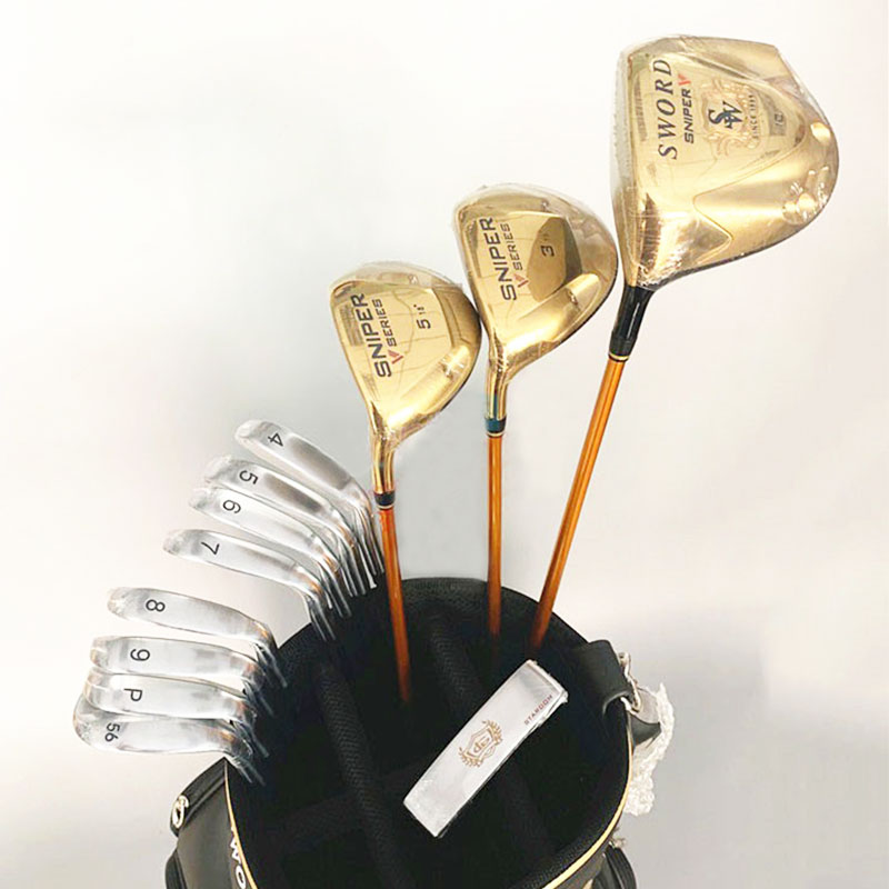 Sword Putter Golf-Complete-Clubs-Driver Left-Hand Irons Graphite-Shaft-Cover Katana Fairway Wood