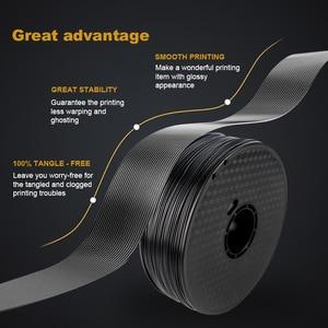 Image 4 - 3D Printing Filament TPU Flexible Filaments TPU filament Plastic for 3D Printer 1.75mm Printing Materials white Black etc Colors