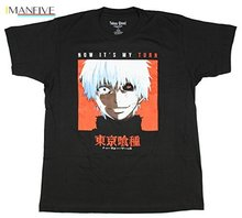 Funimation Tokyo Ghoul Now It's My Turn T-Shirt  Cartoon t shirt men Unisex New Fashion tshirt Loose Size top ajax цены