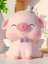 Cute Pig Coin Bank Drop-Resistant Children's Pig Big Schoolgirl Girl Lovely Saving Box Piggy Bank Money Box Internet Celebrity