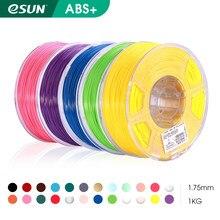 Esun 3d filamento da impressora 1.75mm 1kg abs + 3d plástico impressão filamento 2.2 lbs carretel 3d material de impressão para impressora 3d