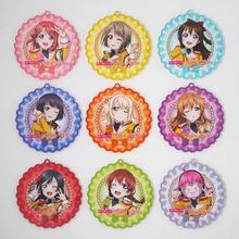 Love Live PDP Game Lovelive Perfect Dream Project Nijigasaki High School Idol Club Kanata Konoe Ayumu Uehara Acrylic Keychain