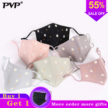 PVP 1Pcs Fashion Petal Face Mouth Mask Anti Dust Filter Windproof Mouth-muffle Bacteria Proof Flu Masks Care Reusable