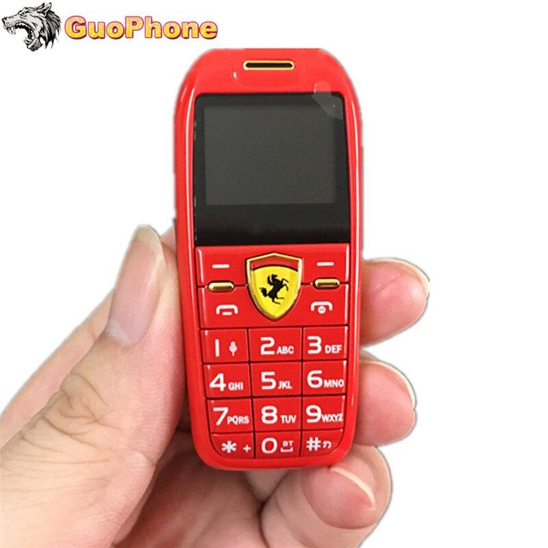 Mini coche llave Pulsar botón teléfono móvil 1,0