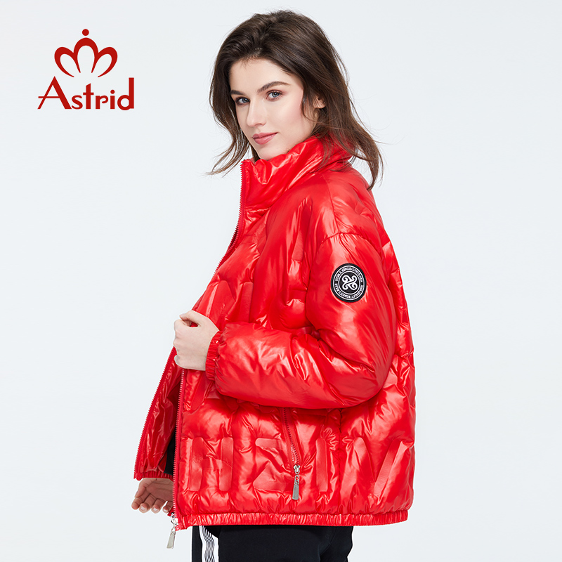 Astrid 2020 Spring Coat Women Warm Thin Cotton Short Loose Parka Casual Fashion Female High Quality Outwear Trend Jacket ZR-3019