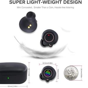 Image 3 - X2 אלחוטי Bluetooth אוזניות 5.0 Eabuds IPX7 עמיד למים בס AAC & SBC אוזניות QCC3020 Apt x 5.0 TWS אוזניות