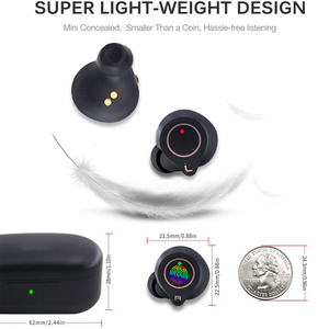 Image 3 - X2 Wireless Bluetooth Earphone 5.0 Eabuds IPX7 Waterproof Bass AAC&SBC Headphones QCC3020 Apt X 5.0 TWS Earbuds
