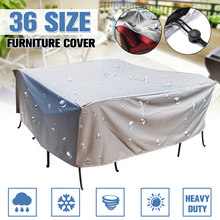 36Size Outdoor Cover Waterproof Furniture cover Sofa Chair Table Cover Garden Patio Beach Protector Rain Snow Dust Covers(China)