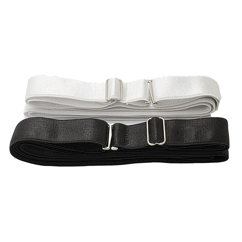1PCS Anti Wrinkle Strap Hot Shirt Dress Holder Adjustable Near Shirt Stay Best Non-slip Tuck It Belt 2Colors