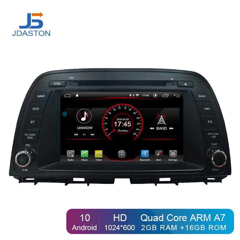 JDASTON Android 10.0 Car Multimedia Player For <font><b>Mazda</b></font> CX-5 <font><b>CX5</b></font> 2013 2014 GPS <font><b>Navigation</b></font> 2 Din Car Radio Stereo Autoaudio IPS WIFI image