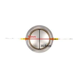Image 3 - Звуковая катушка Ghxamp 35,5 мм, 35 ядер, тройная звуковая катушка 8 Ом, круглая медная обмотка, титановая диафрагма для сценических динамиков, 2 шт.
