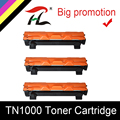 HTL 3 шт. TN1000 тонер-картридж совместимый с TN1030 TN1050 TN1060 TN1070 TN1075 HL-1110 1210 MFC-1810 DCP-1510 1610W