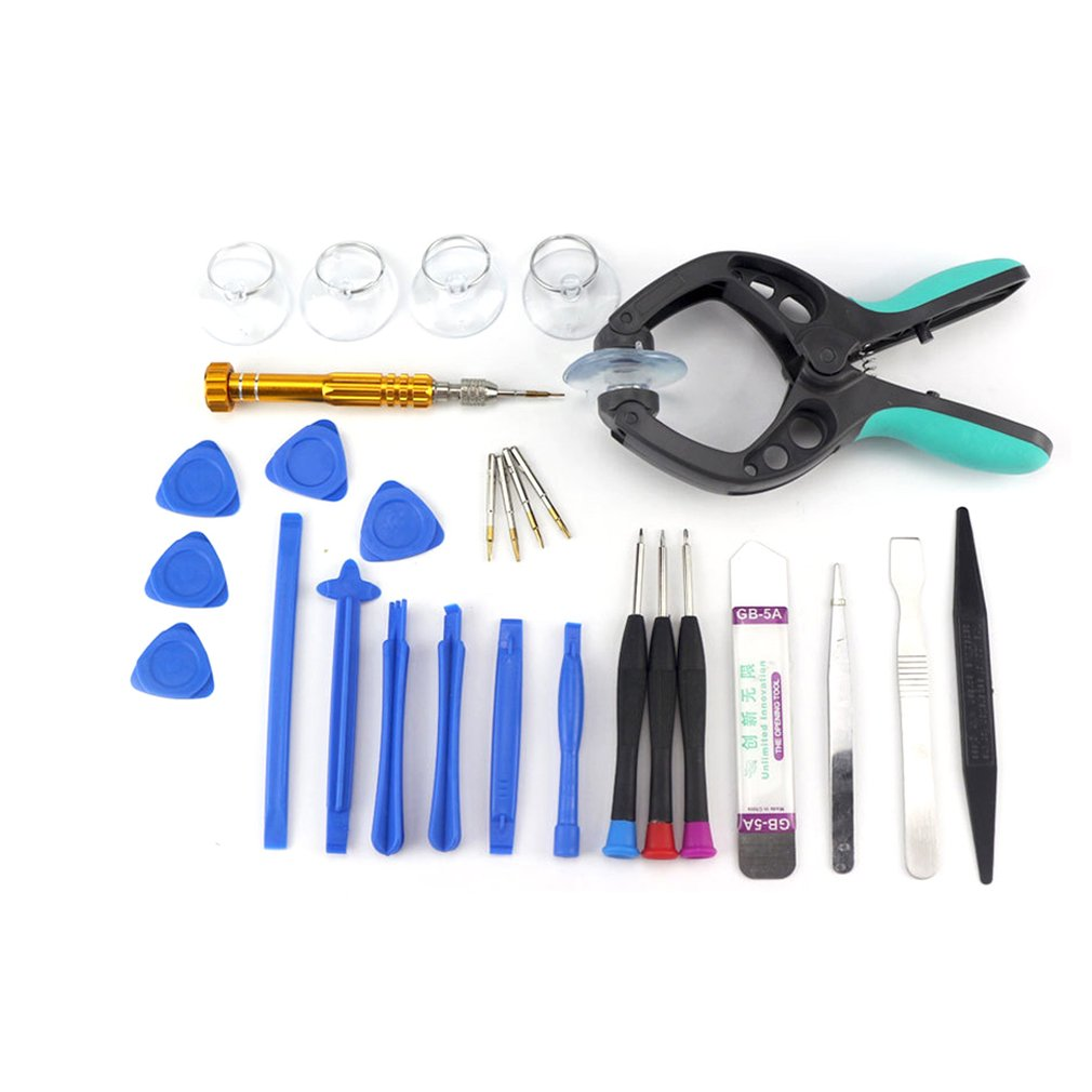 Smart Phone Repairing Tools Set Laptop Notebook Tablet Opener Tool with Anti Static Band for PC 31 in 1 S2 Alloy Steel image