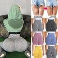 Женские компрессионные колготки с высокой талией, спортивные штаны, пуш-ап, для бега, для тренажерного зала, леггинсы для фитнеса, Бесшовные ...