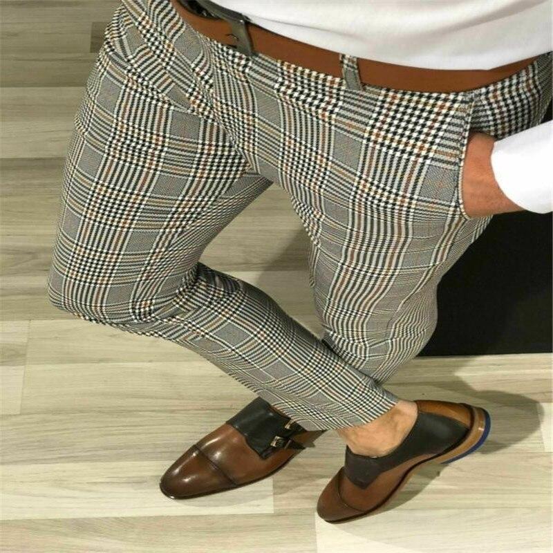 Nueva Marca Inteligente Para Hombre Casual Formal Pantalones Tallas Grandes Control Ar Com Ar