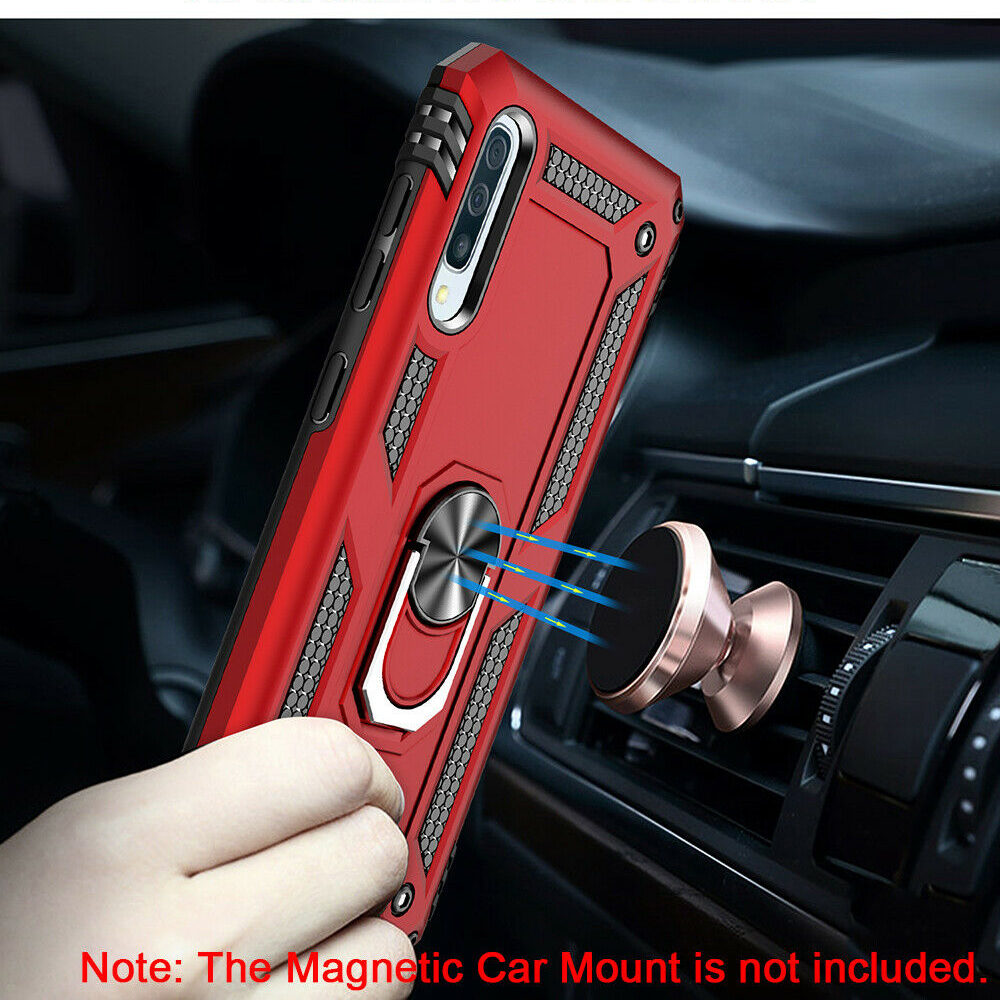 For Samsung Galaxy A20e A70 A50 A40 A30 A20 A10 Case Kickstand Armor Cover For Samsung A80 A90 A50 A70 M40 M20 Magnet Phone case 2