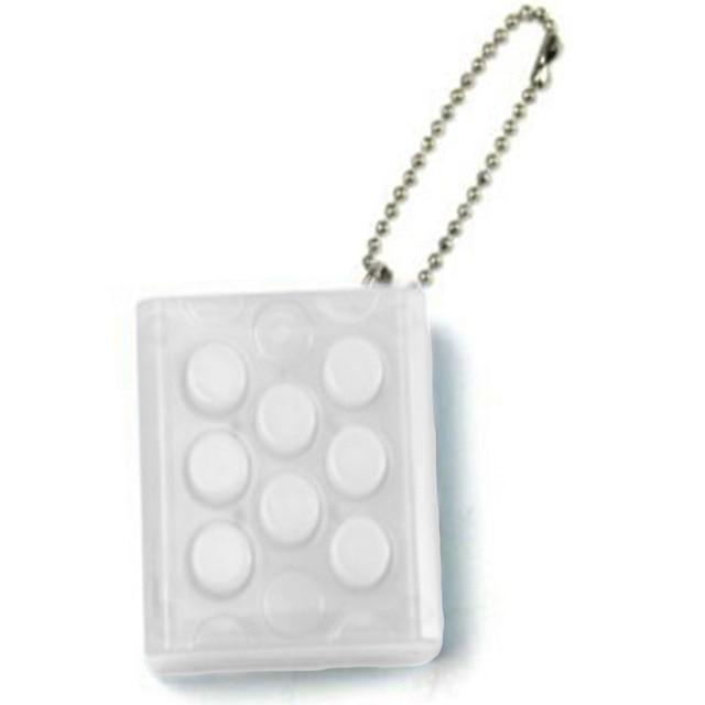 Anti Stress Toys Electronic Bubble Wrap Keyring Pop Infinite Keychain stress cube