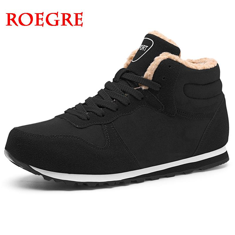 Hot Sale Men Boots Winter Inexpensive Shoes Fashion Warm Snow Boots Shoes Men's Plus Size Sneakers Ankle Boots Men Winter Boots
