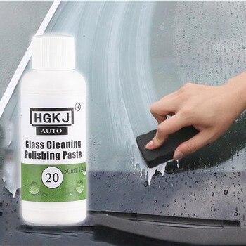 HGKJ-20 Glass Film Cleaning Paint Protective Foil Polishing Glass Cleaning Polishing Paste Car Repair Safety Ceramic Car Coating 30ml hardness 10h super hydrophobic car glass coating car liquid coat paint care durability anti corrosion coating set
