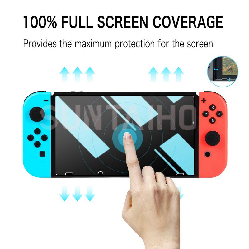 3PC Tempered Glass 9H HD Screen Protector Film For Nintendo Switch NS Screen Protector For Nintendo Switch Lite Accessories 4