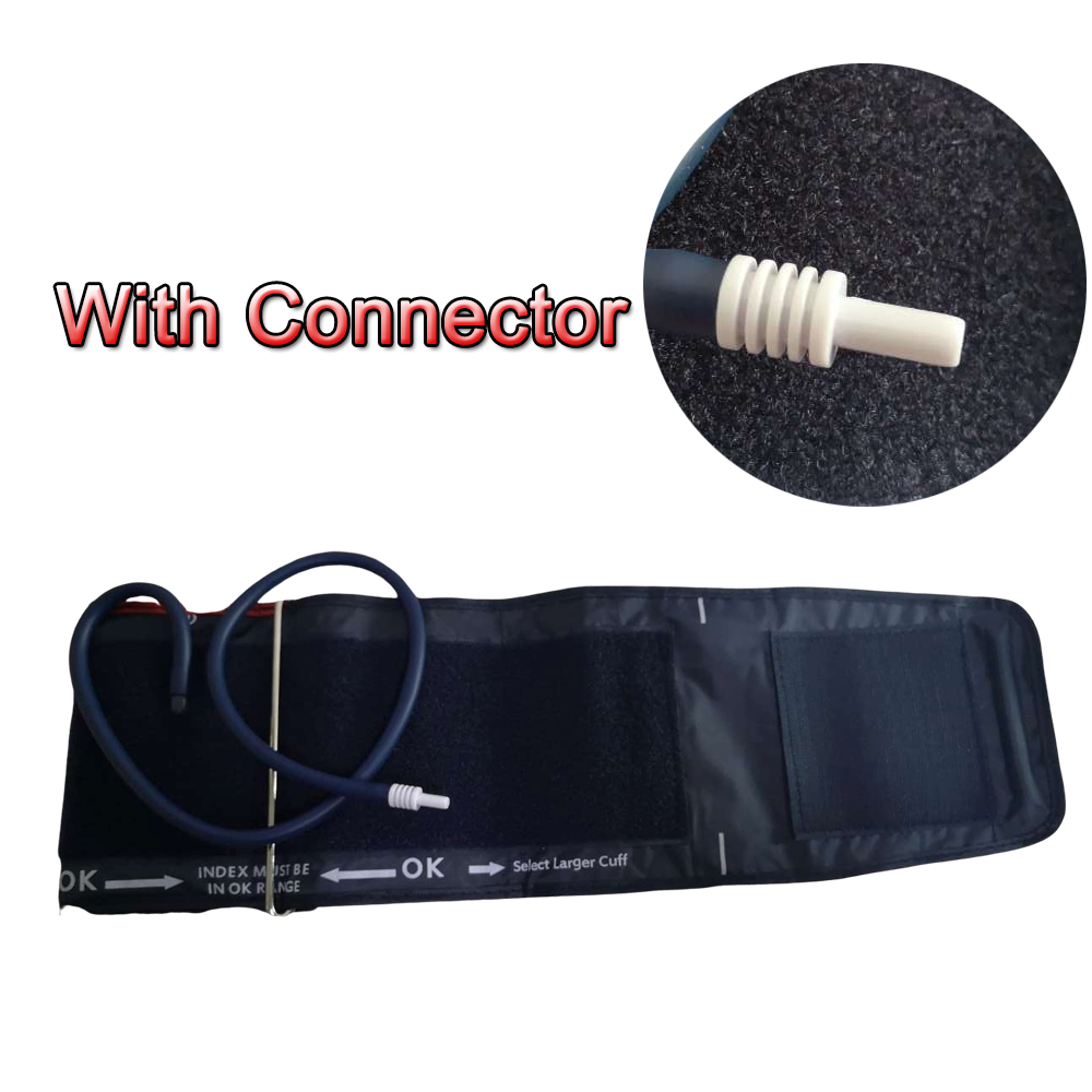 ELERA Portable Arm Digital Blood Pressure Monitor Cuff Single Tube Tonometer Cuff For Sphygmomanometer BP Meter 22-32CM/22-46CM