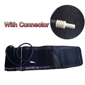 Image 1 - ELERA Portable Arm Digital Blood Pressure Monitor Cuff Single tube Tonometer Cuff For Sphygmomanometer BP meter 22 46CM