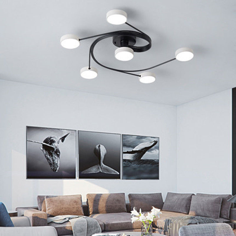 Nordic Led Iron Simple Ceiling Lights Modern Light Luxury Ceiling Light Bedroom Creative Ceiling Hanging Lamps Light Fixtures Ceiling Lights Aliexpress