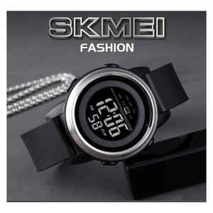 Image 2 - SKMEI Men Digital Watch Waterproof LED Sport Military Mens Watches Top Luxury Brand Fashion Wristwatch Male relogio masculino