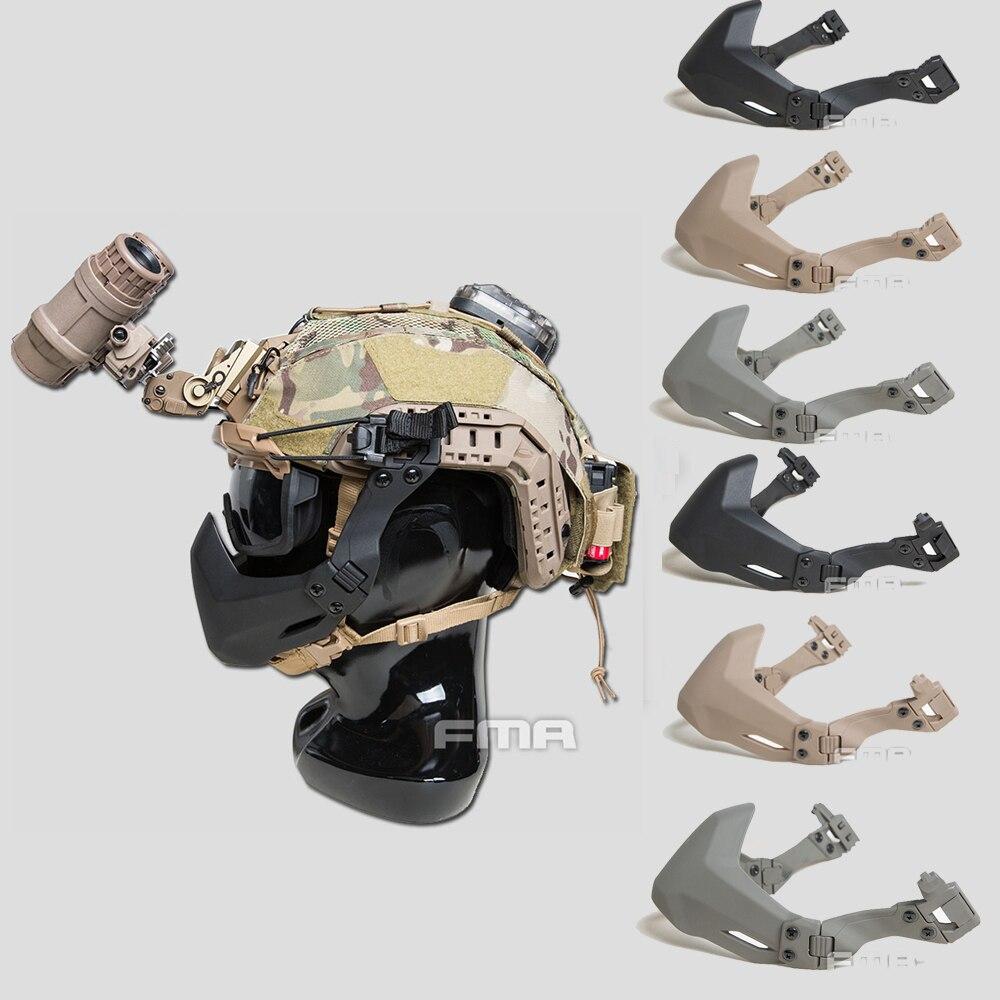 Máscara Facial Meia Vedação Acessório Esportivo Militar Portátil Fma