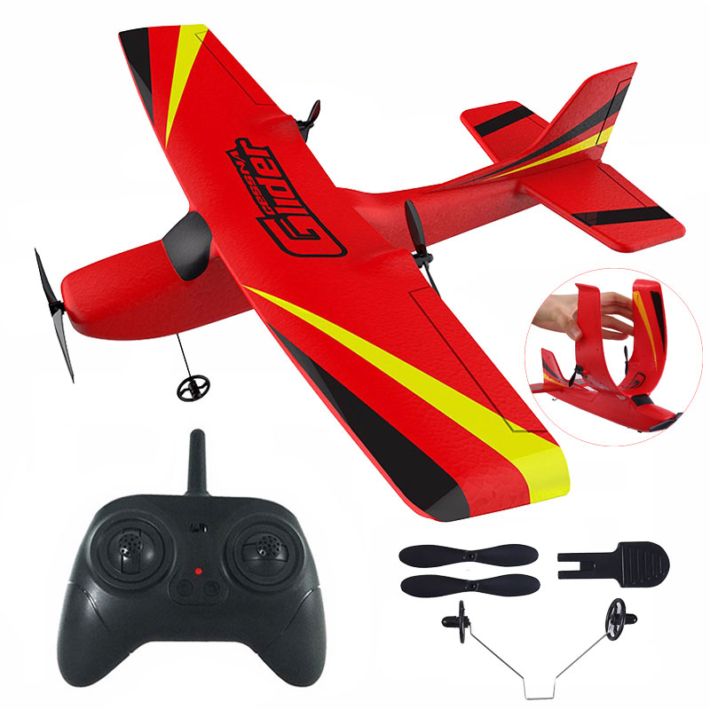 Z50 RC Airplane 2.4G Wireless RC Air Planes EPP Foam Built Gyro Glider 300mAh RC Plane Radio-Controlled Aircraft Toy for Boy Kid(China)