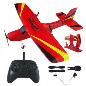 Image 1 - Z50 RC Flugzeug 2,4G Drahtlose RC Air Flugzeuge EPP Schaum Gebaut Gyro Segelflugzeug 300mAh RC Flugzeug Radio gesteuert Flugzeug Spielzeug für Jungen Kid