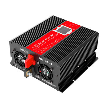 LED-Display KFZ Wechselrichter 1000W 2USB Konvertieren Inverter Auto Transformator Spannungswandler DC 12V ZU AC 12V power Inverter image