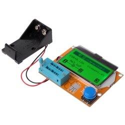 9 v LCD Digitale Transistor Tester LCR T4 ESR Meter 12864 Backlight Capaciteit-in Multi meters van Gereedschap op