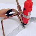 Ss Metall Aluminium blatt Grooving Maschine Metall Buchstaben Bender für 3D Kanal Buchstaben  Der-in Biege Maschinen aus Werkzeug bei
