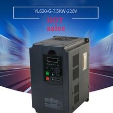 5.5KW/7.5KW 220 v/380 v однофазный вход и 3 фазы Выход преобразователь частоты/регулируемый Скорость/Паркер регулятор скорости с частотно-регулируемым приводом для мотор шпинделя