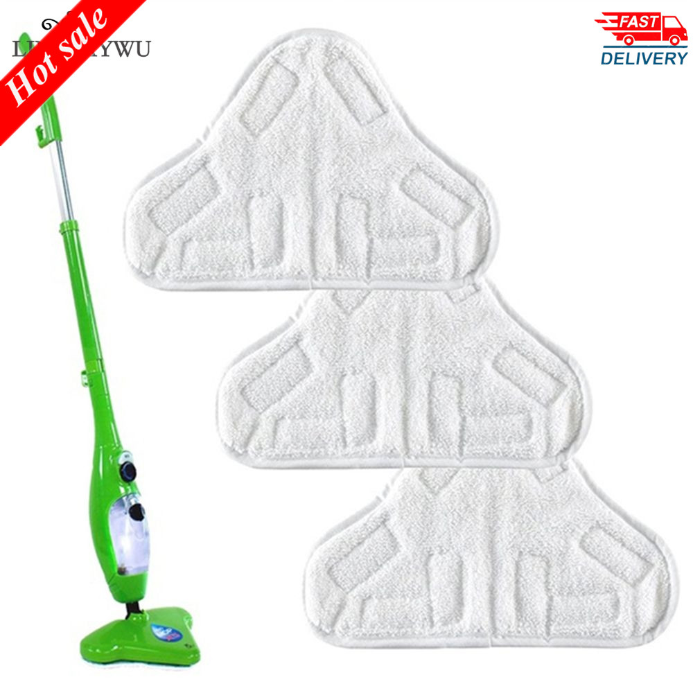 1PCS Reusable Cloth Washable Microfiber Replacement Pads Fit H2O X5 Mop Cleaning Tool Microfiber Cloth Replacement Mop(China)