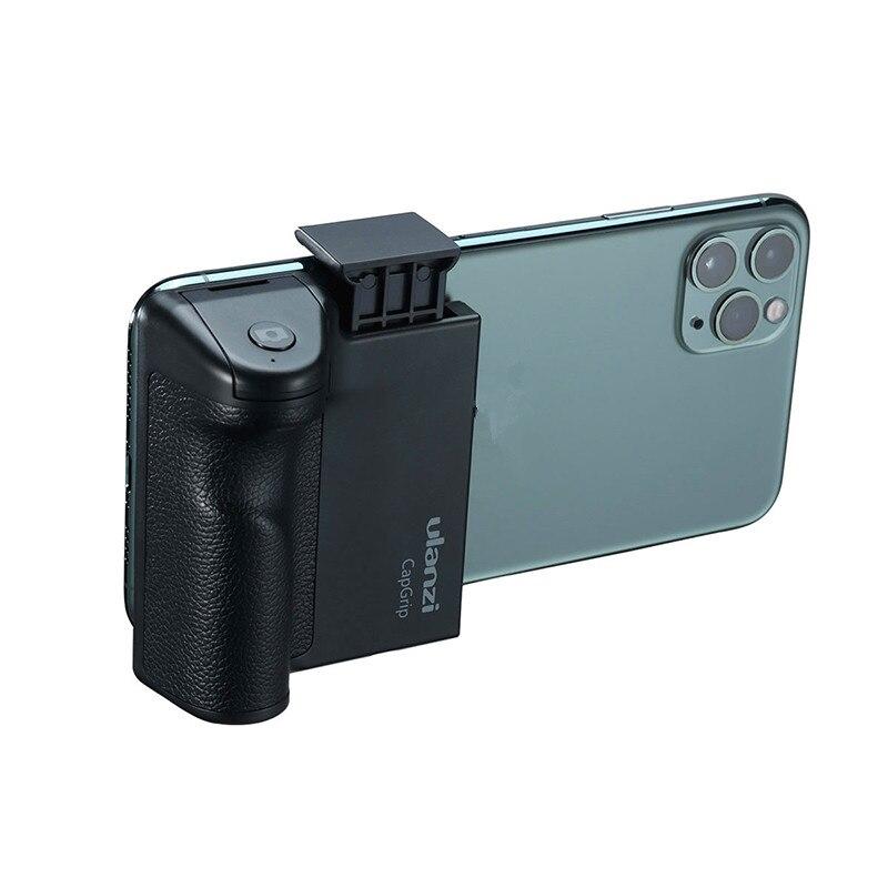 Ulanzi CapGrip Wireless Bluetooth Smartphone Selfie Booster Handle Grip Phone Stablizer Stand Holder Shutter Release 1/4 Screw