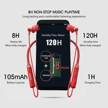 Original Lenovo HE05 Bluetooth inalámbrico verdadero 5,0 deportivo magnético corriendo auricular impermeable auriculares de cancelación de ruido