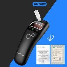 ACT600 neue hohe genauigkeit mini Alkohol Tester, alkoholtester, alcometer ,Alcotest erinnern fahrer sicherheit in fahrbahn diagnose werkzeug