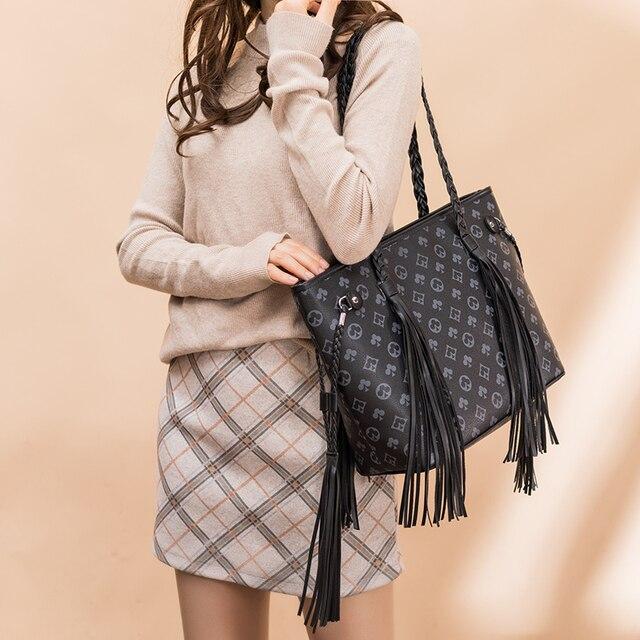 New Fashion Fringed Bag  5