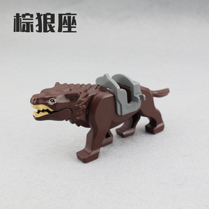 Image 4 - 6Pcs/set New Enlighten Lord of the Rings Hobbit Wolf for Minifigure Bricks Building Blocks Action Figures Toys For Boys Gift